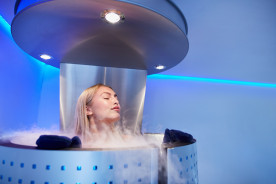 Neu bei Thermen Bad Nieuweschans; Kryotherapie!